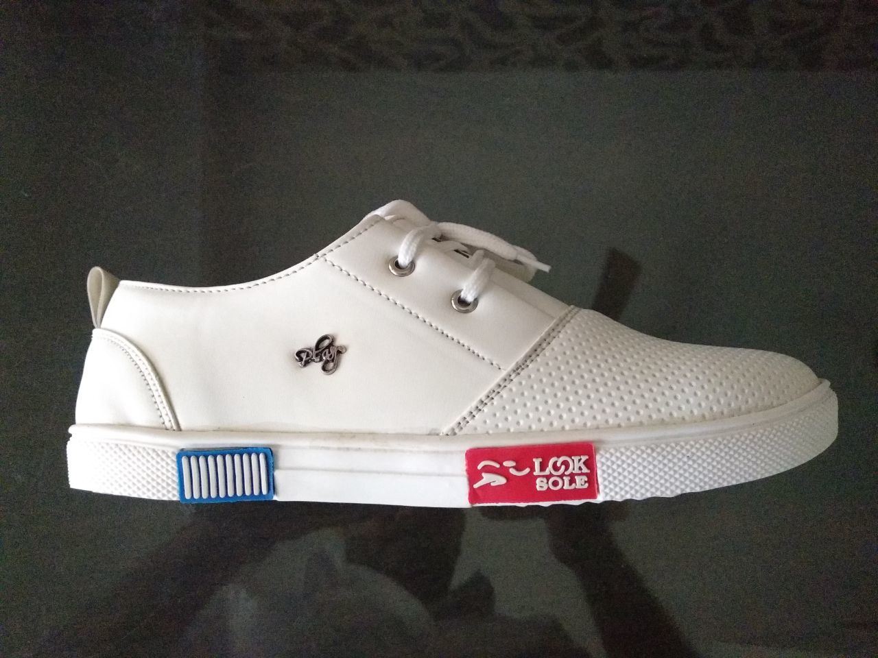 White Colour Casual Shoes For Mens White Colour Casual Shoes For