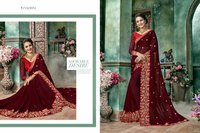 Bollywood heavy border designer sarees