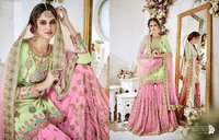 Heavy Embroidered Bridal Sharara Suit Online