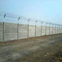 Pre casted Compound Boundary Wall