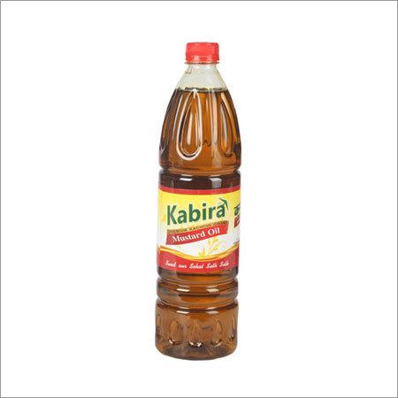 1 Ltr Kabira Pet Bottle Mustard Oil