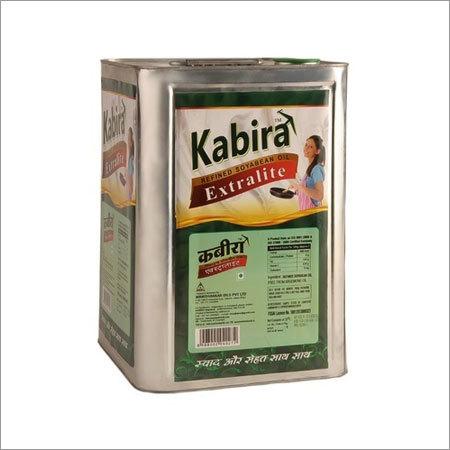 15 Ltr Kabira Soyabean Oil Tin Pack