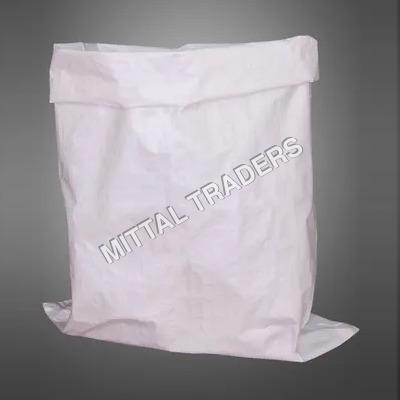 White Laminated PP Woven Bag