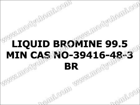 Liquid Bromine 99.5 Min
