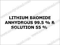 Lithium Bromide Anhydrous 99.5 % & Solution 55 %