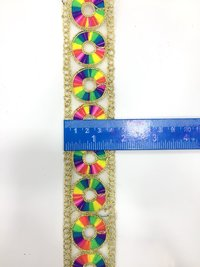 Embroidery Neck Laces