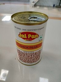 Canned chickpeas in brine