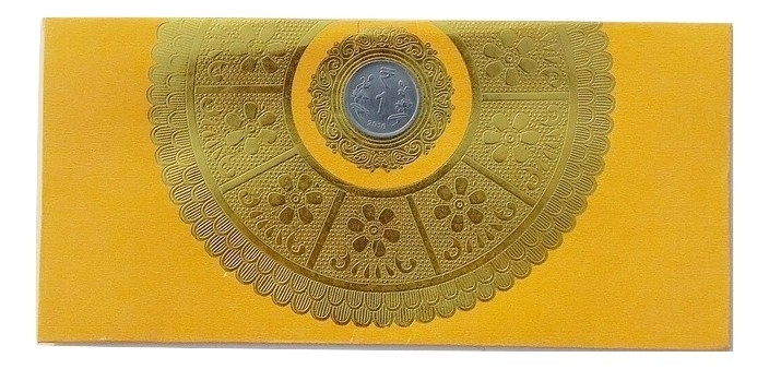 Shagun Sun Flower Fancy Envelope