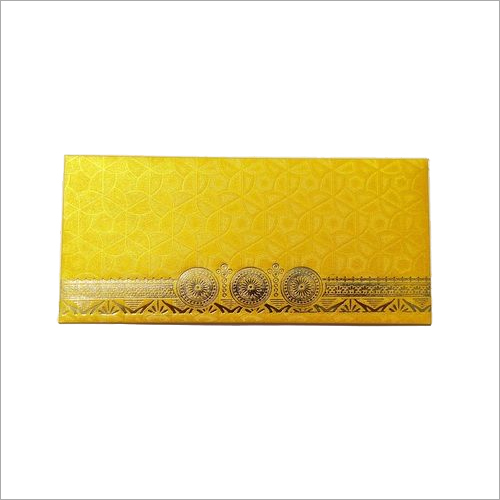 Shagun Round Flower Design Envelope
