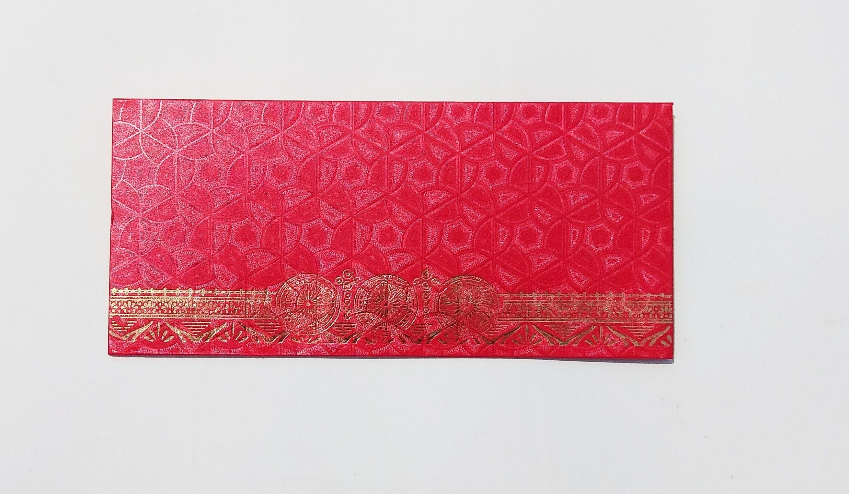Shagun Round Flower Design Envelope