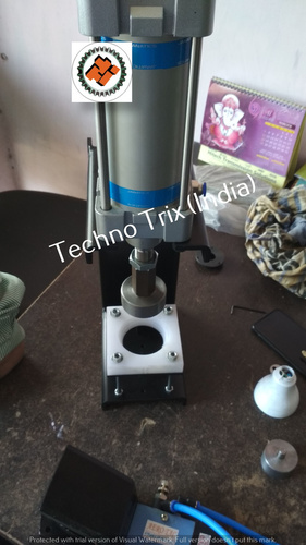 LED Tikki Pressing Machine