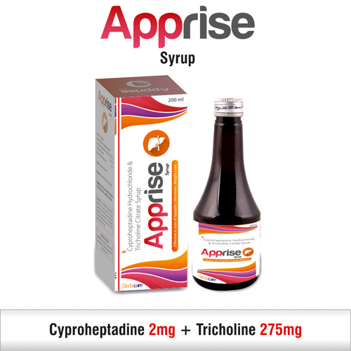 Tricholine Citrate + Cyproheptadine
