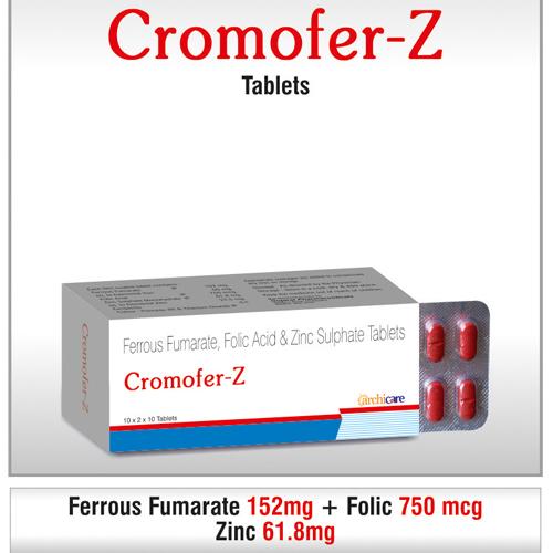 Ferrous Fumarate, Folic & Zinc Syrup
