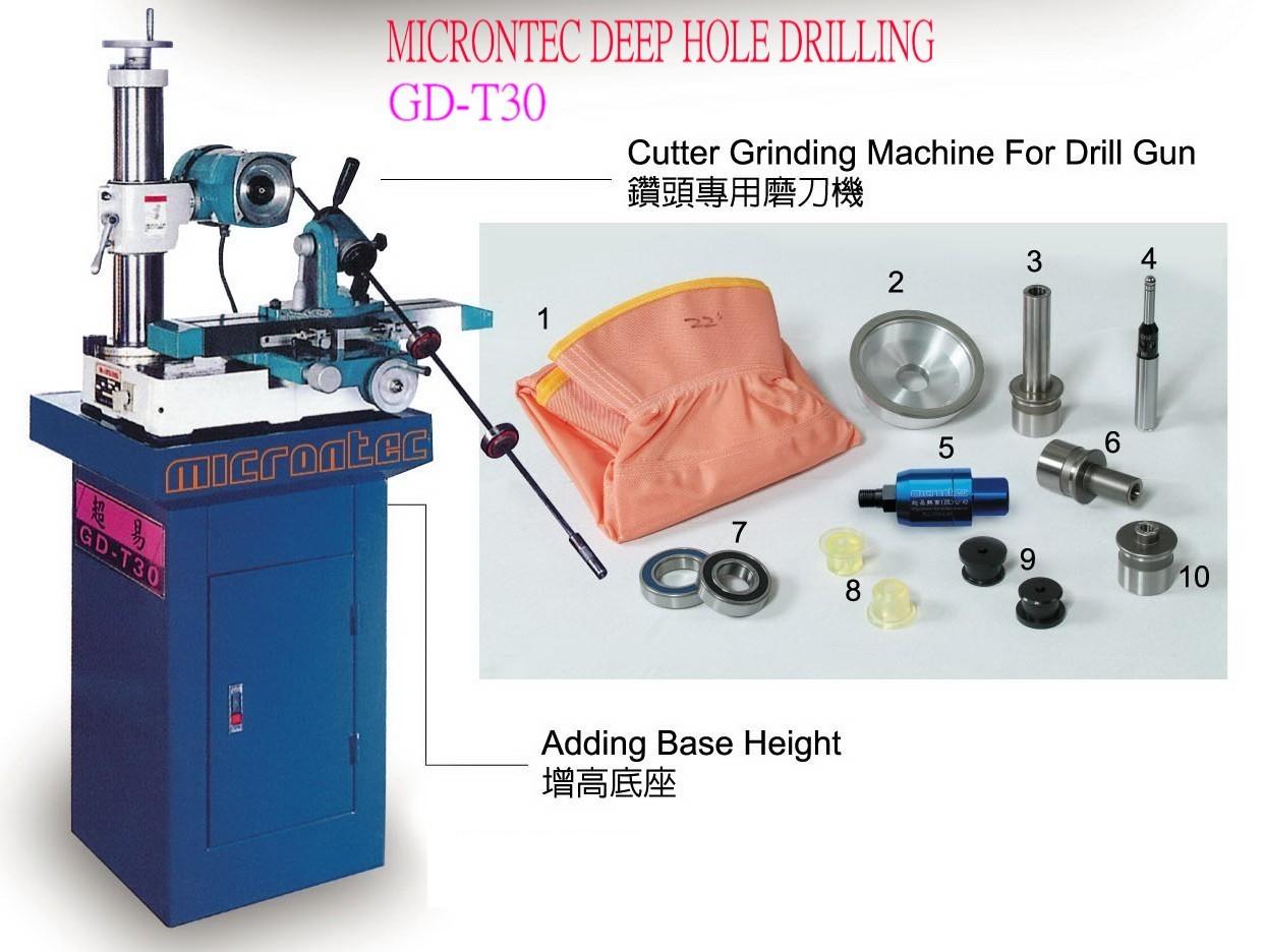 Gun Drill Grinding Machine