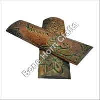 Dyed Stabilized Brown & Green Color With Design Bone Radius Scales