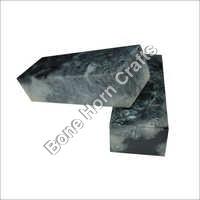 Epoxy Resin (Acrylic) Black Color Knife Handle Blocks