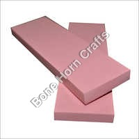 Epoxy Resin (Acrylic) Light Pink Color Knife Handle Scales
