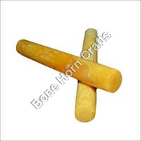 Acrylic Resin Round Shave Amber Yellow Pen Blanks