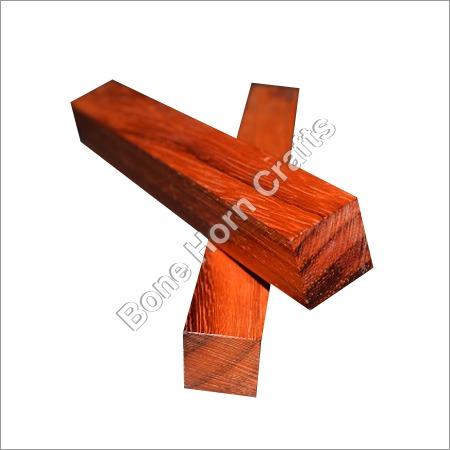 Red Wood Pen Blank