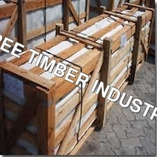 Wooden Pallet For Large Marble Blocks