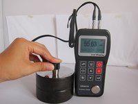 Color Screen Ultrasonic Paper Plastic Rubber Thickness Measurement Equipment