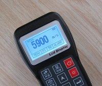 Color Screen Ultrasonic Paper Plastic Rubber Thickness Measurement Equipment