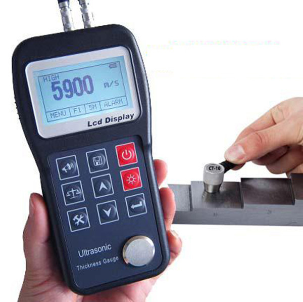 Color Screen Digital Electronic Thickness Meter, Ultrasonic Thickness Measuring Instruments for Pipes