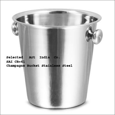 Champagne Steel Bucket SAI