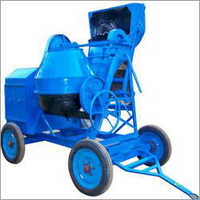 Tilting Drum Type Hopper Fed Mixer