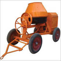 Tilting Hand Feed Concrete Mixer Machine