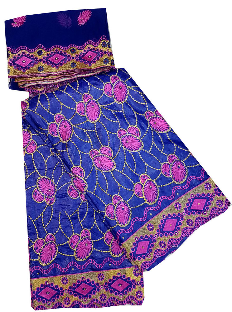 Bazin Embroidery