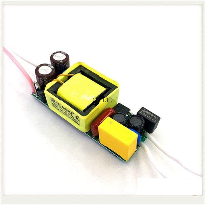 Built-in LED driver power supply 12-20x1W(CE) input AC85-277V output DC36-64V/300MA±5%
