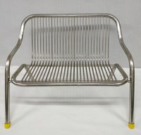 Stainless Steel  Bench 2 Seater (Dc-38/1)