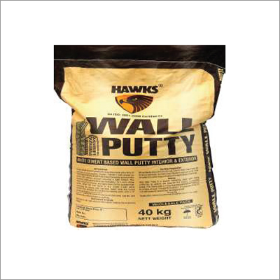 White Cement Based Powder Putty