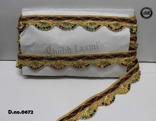 Multi Pankh Lace