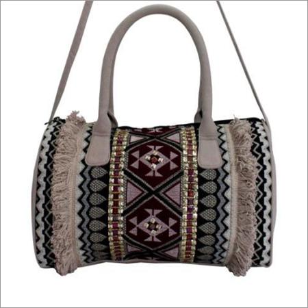 Ladies Embroidered Handbags
