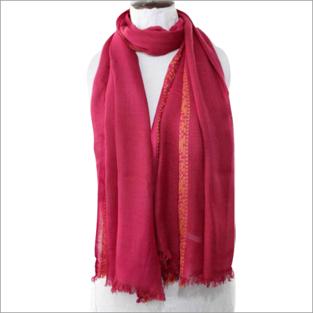 Women Red Scarf