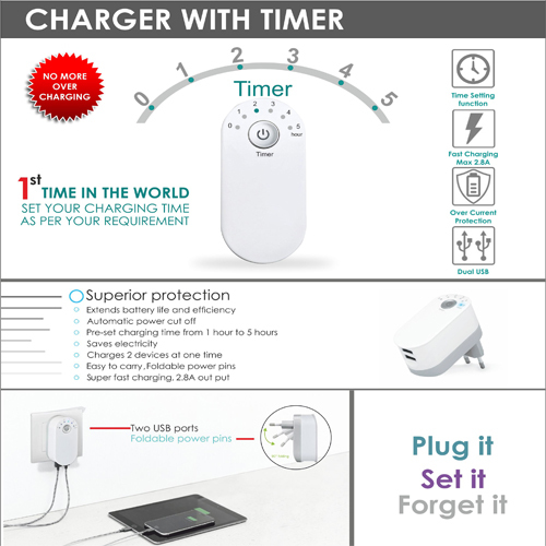Charger with Timer