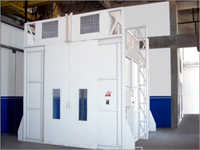 Down Draft Paint Spray Booth