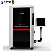 High precision fiber laser cutting machine for gold silver