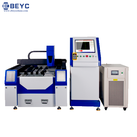 Small Scale Brass Gold Fiber Laser Cutting Machine