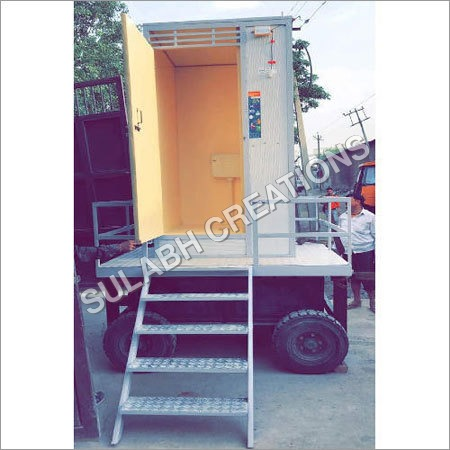 Single Cabin Mobile Toilet Van