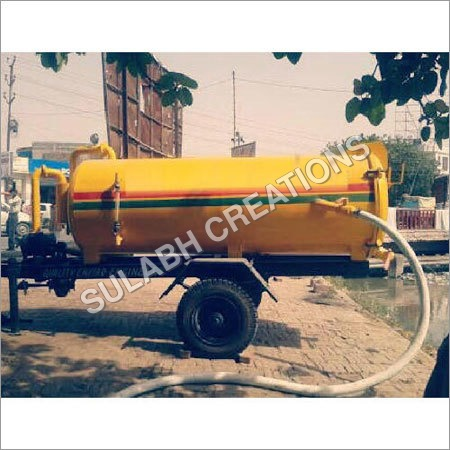 Mild Steel Sewage Suction Machine