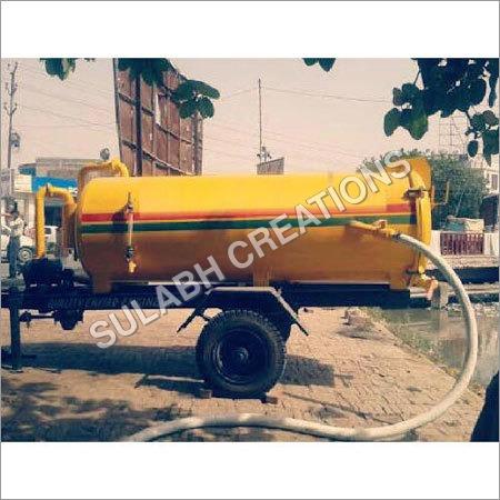 Mild Steel Sewage Suction Machine