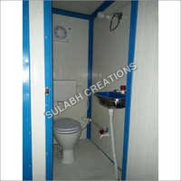 PPGI Puff Toilet Cabins