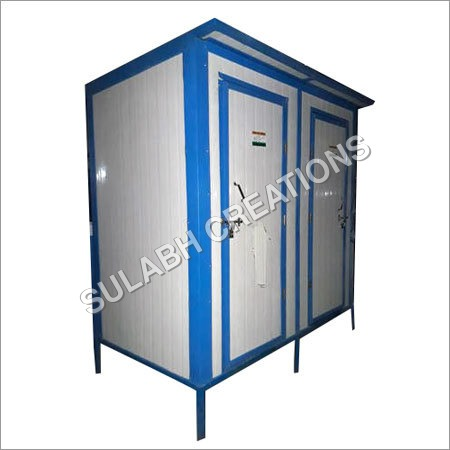 Two in One Puff Toilet Cabins