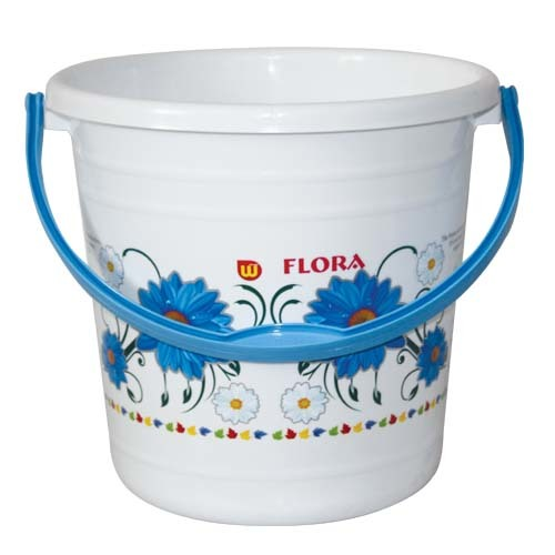PLASTIC PRINTED BUCKET SUPER 18