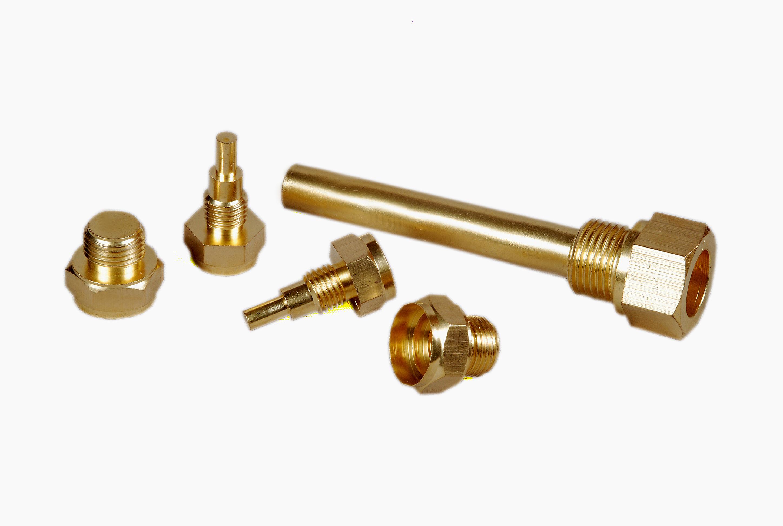 Brass Gas Component