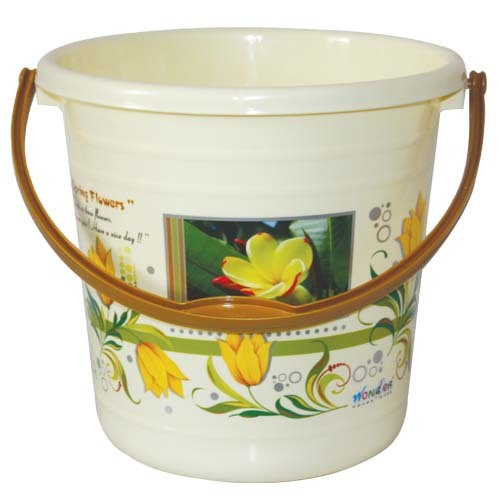 WONDER PLASTIC BUCKET PRINTED SUPER 26