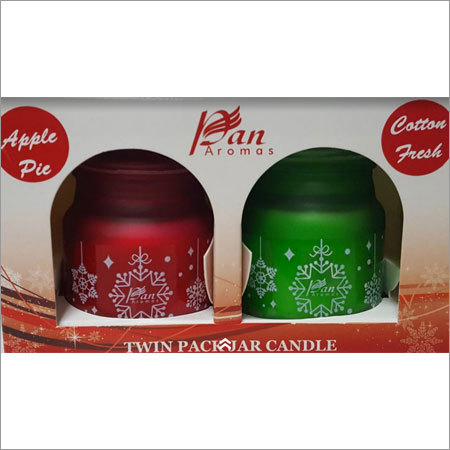 Twin Pack Jar Candle - Gift Set